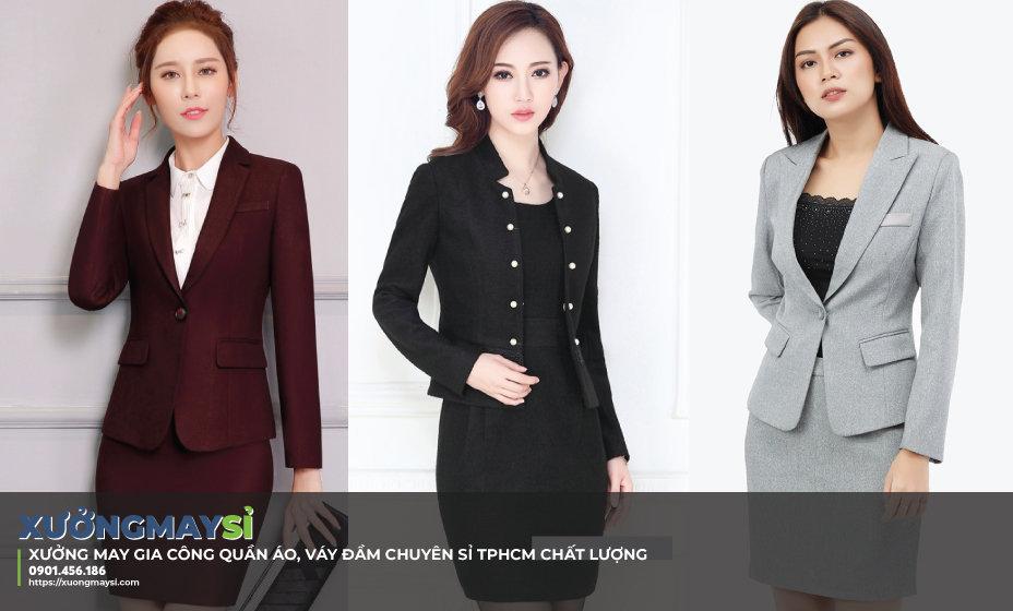 Kiểu vest cho nữ công sở hiện đại, hấp dẫn: