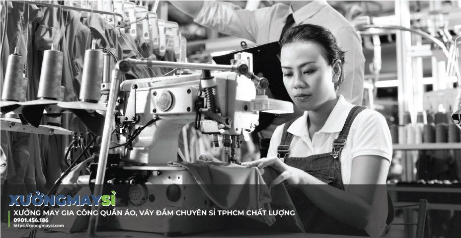 Xuongmaysi - Xưởng may gia công quần áo, váy đầm thời trang TPHCM giá sỉ