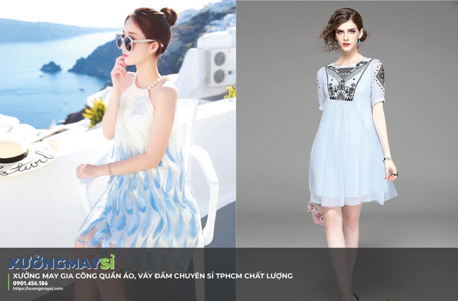 Xưởng may váy đầm giá sỉ TPHCM, Xưởng may quần áo chuyên sỉ