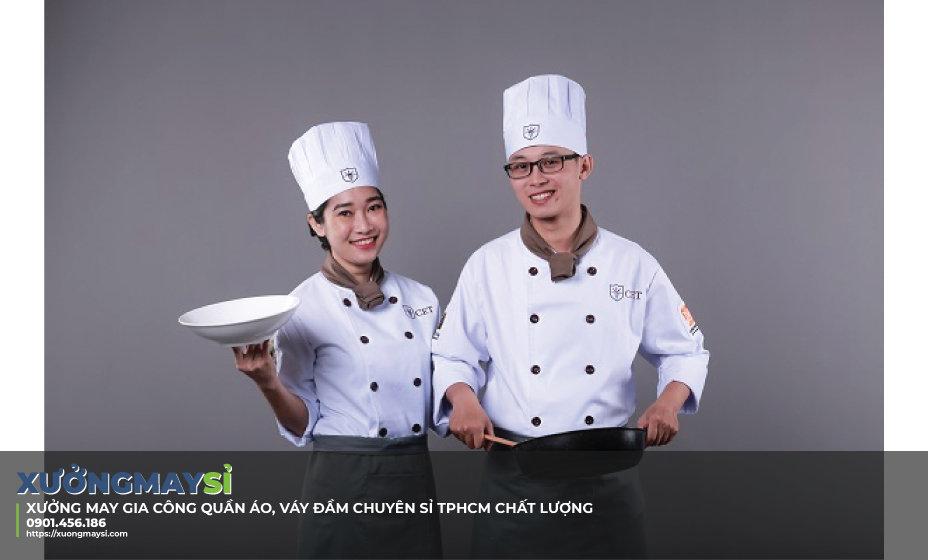 Đồng phục nhà hàng khách sạn đẹp cho nhân viên bếp