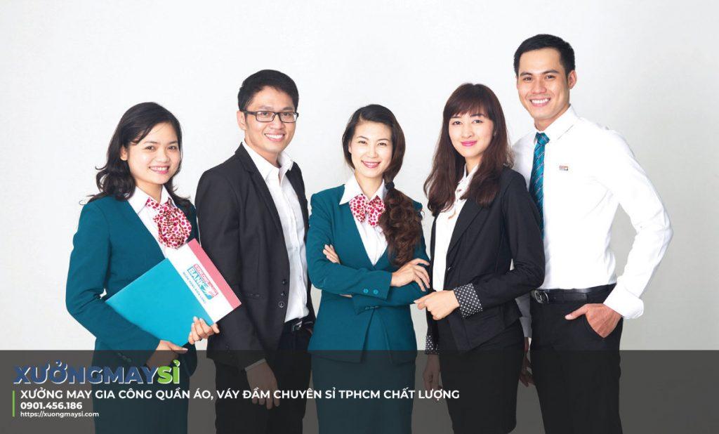 Tư vấn lựa chọn đồng phục ngân hàng đẹp chất lượng