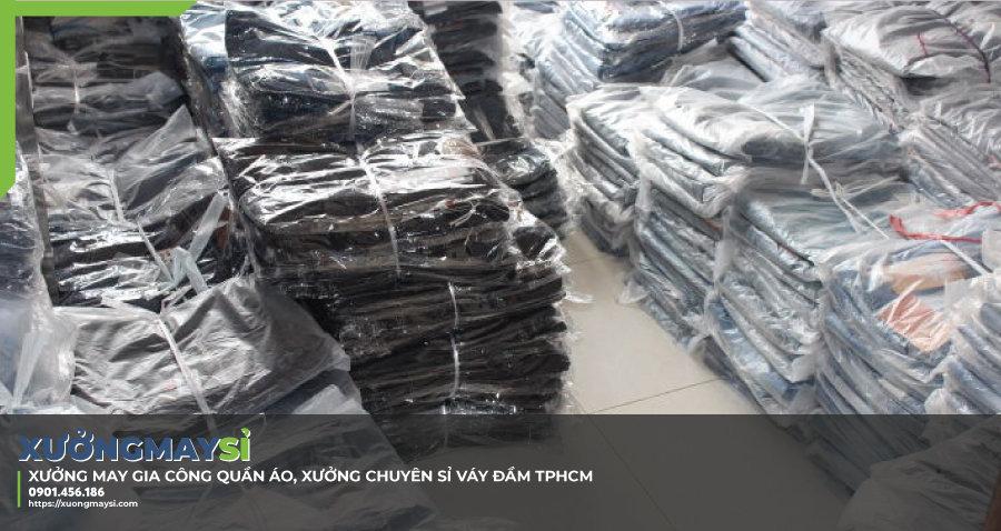 Xưởng may chuyên sỉ đầm thiết kế cao cấp tại TPHCM giá rẻ