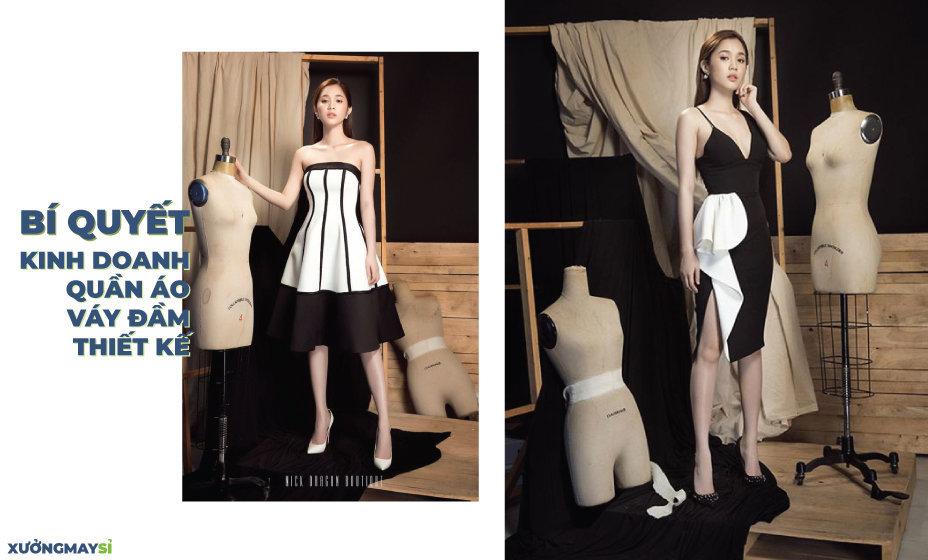 [Chia sẻ] Bí quyết kinh doanh quần áo váy đầm thiết kế