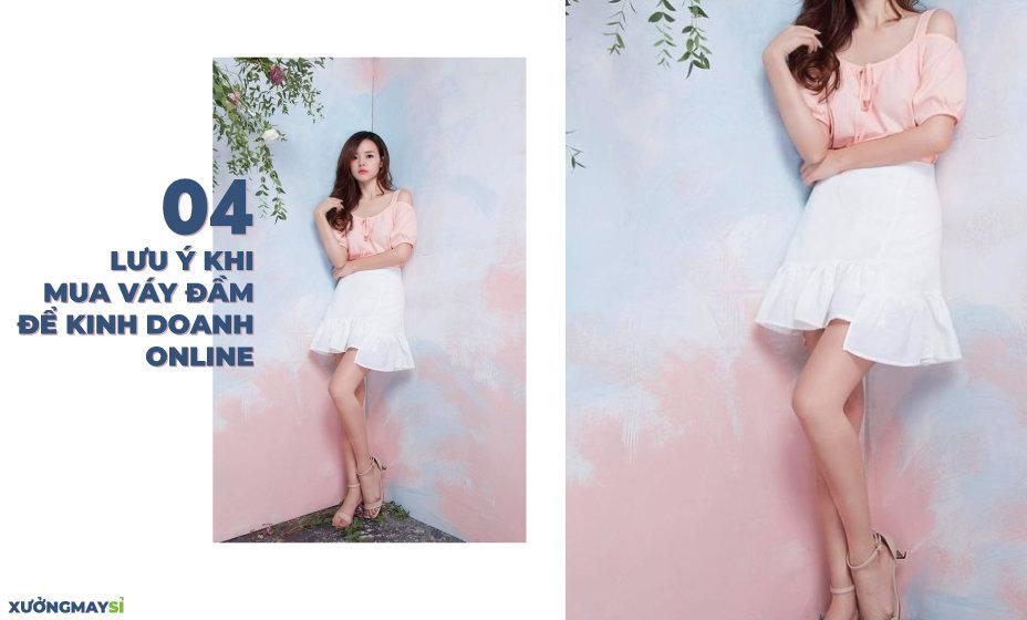 04 Lưu ý khi mua váy đầm giá sỉ để kinh doanh online?