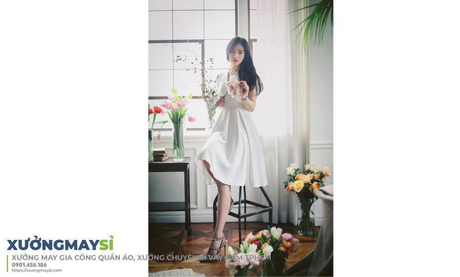 Tìm đâu xưởng may váy đầm theo mẫu giá rẻ tại TPHCM