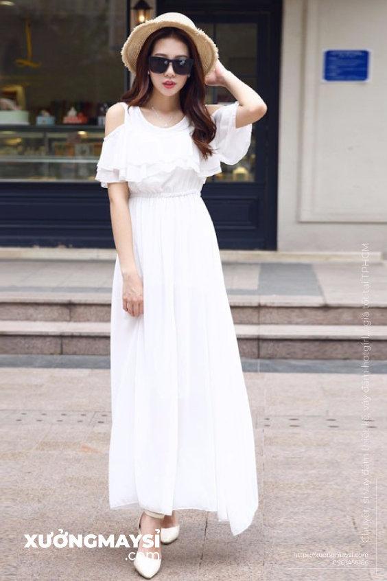 Váy Đầm maxi dài đi biển