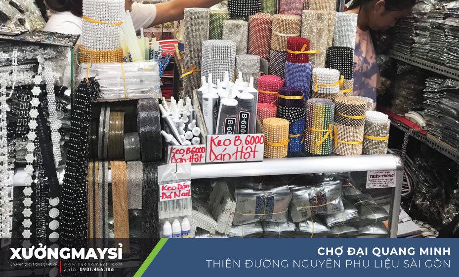 """Đại Quang Minh - """"Thiên đường phụ liệu may mặc Sài Gòn"""""""