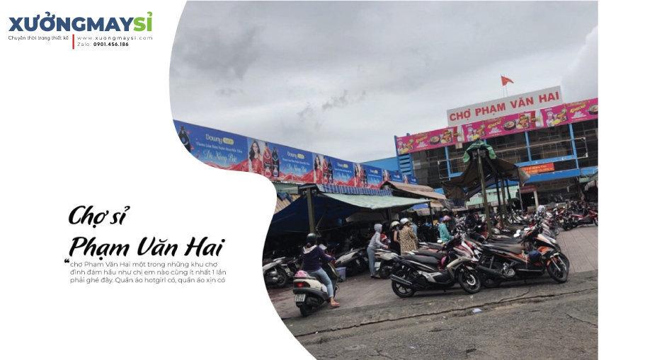 Chợ sỉ quần áo Phạm Văn Hai