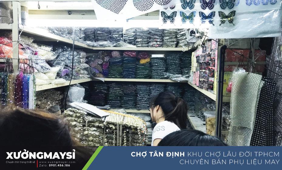 Chợ Tân Định được mệnh danh là một trong những khu chợ có lịch sử lâu đời của TP. HCM