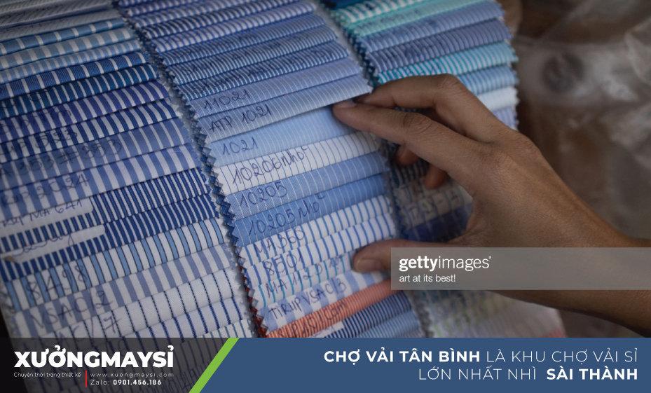 chợ vải Tân Bình cũng là nơi nhập nguồn vải sỉ tin cậy của các chủ thương buôn quần áo, các xưởng may