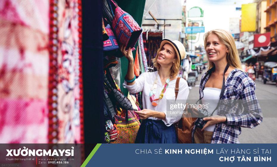 Chợ Tân Bình được thành lập từ những năm 1960 khu chợ nổi tiếng bỏ sỉ quần áo giá rẻ tại TPHCM và khắp miền Nam