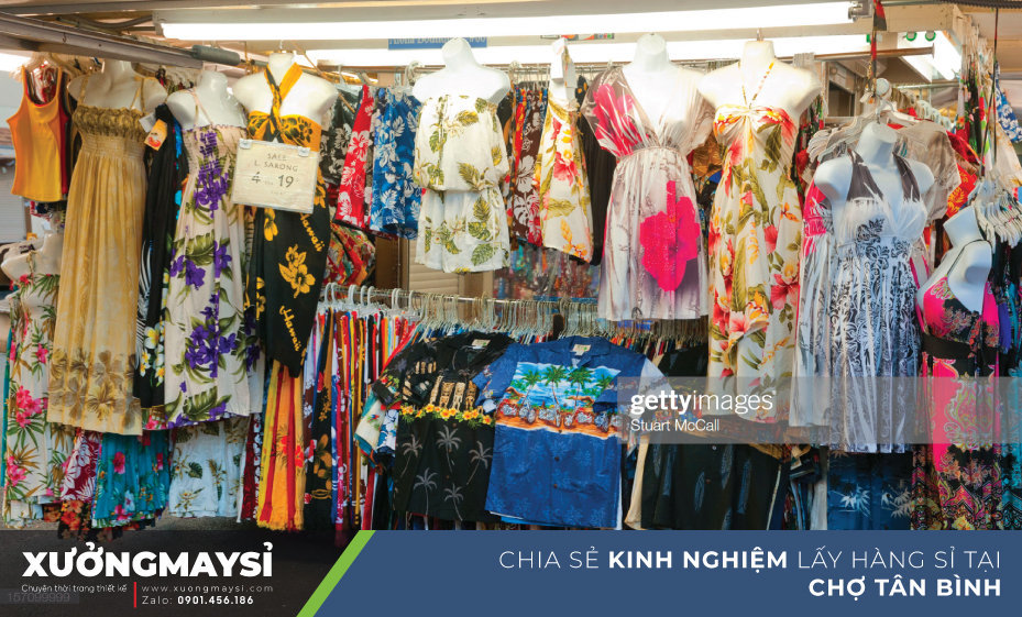 Kinh nghiệm khi đi lấy hàng sỉ tại chợ Tân Bình được hàng tốt giá tốt