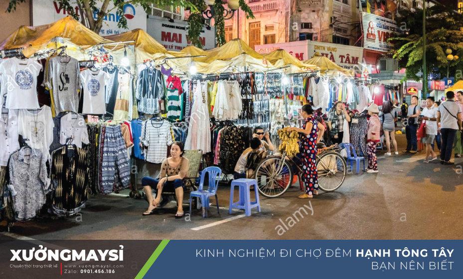 Kinh nghiệm khi đi lấy sỉ quần áo tại chợ Hạnh Thông Tây để kinh doanh