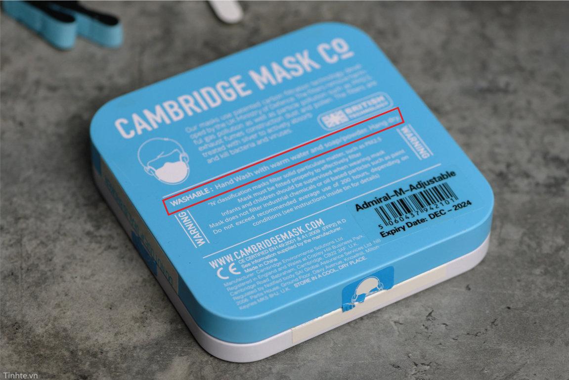 Khẩu trang N95, N99 dùng được mấy lần? có giặt được không?