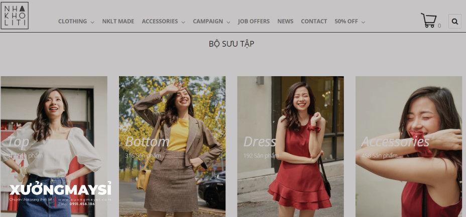 Nhà Kho Liti – Shop quần áo Vintage
