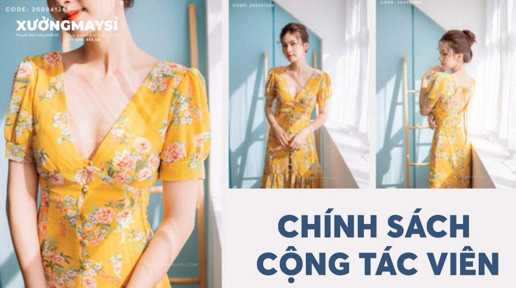 Chính sách cộng tác viên bán hàng quần áo váy đầm thiết kế với chất lượng cao giá tốt