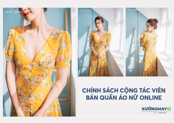 Xuongmaysi.com - Tuyển cộng tác viên (CTV) bán quần áo Online tại TpHCM