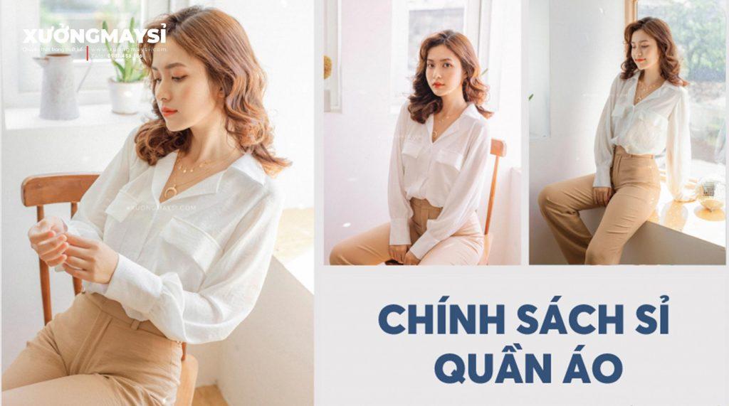 Chính sách sỉ quần áo váy đầm thiết kế nữ chất lượng cao mẫu mã đẹp giá rẻ tại tphcm