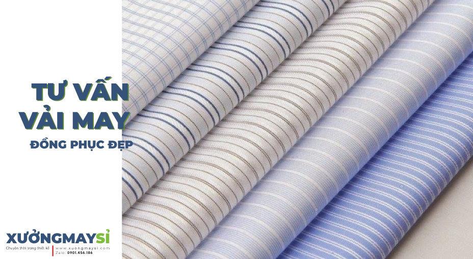 Tư vấn lựa chọn chất liệu vải may đồng phục phù hợp