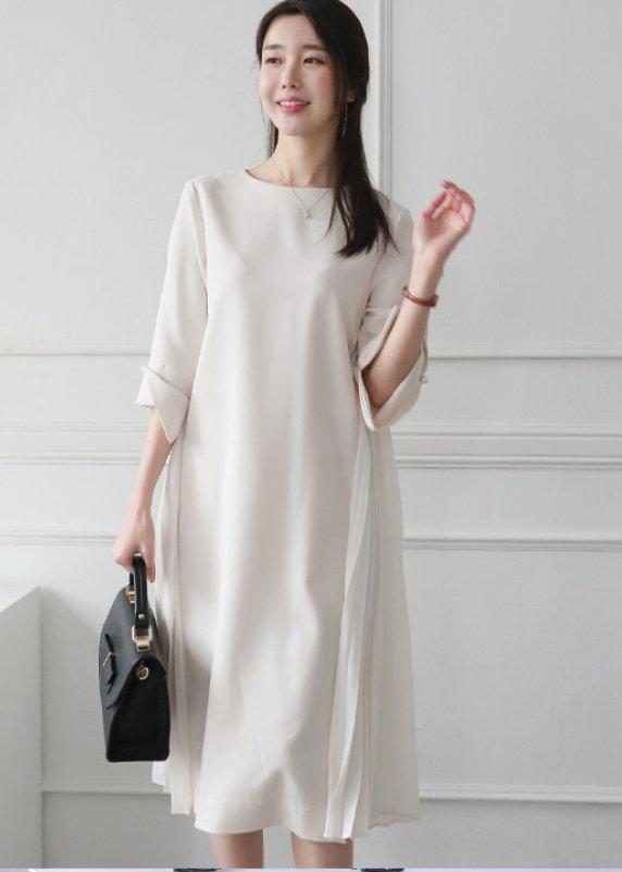 Đầm suông dài form rộng cho người mập