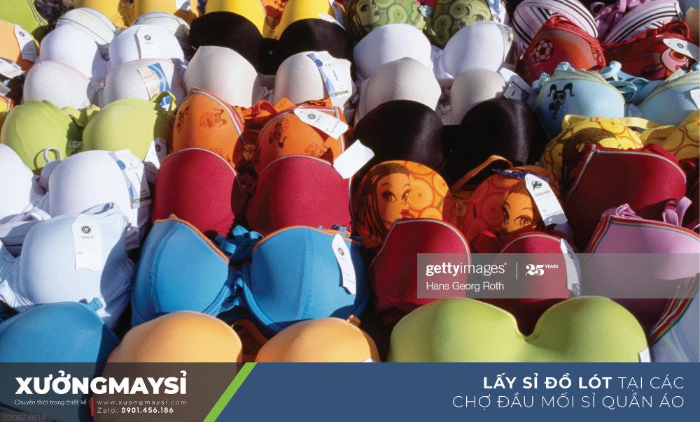 Lấy sỉ đồ lót nữ tại các chợ đồ lót giá sỉ