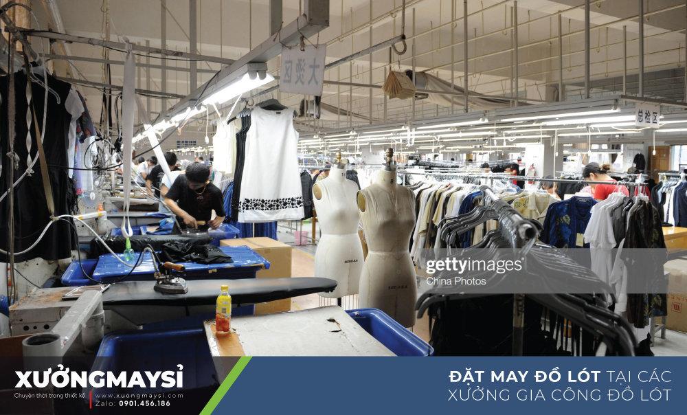 Đặt may đồ lót theo yêu cầu tại các xưởng may gia công đồ lót