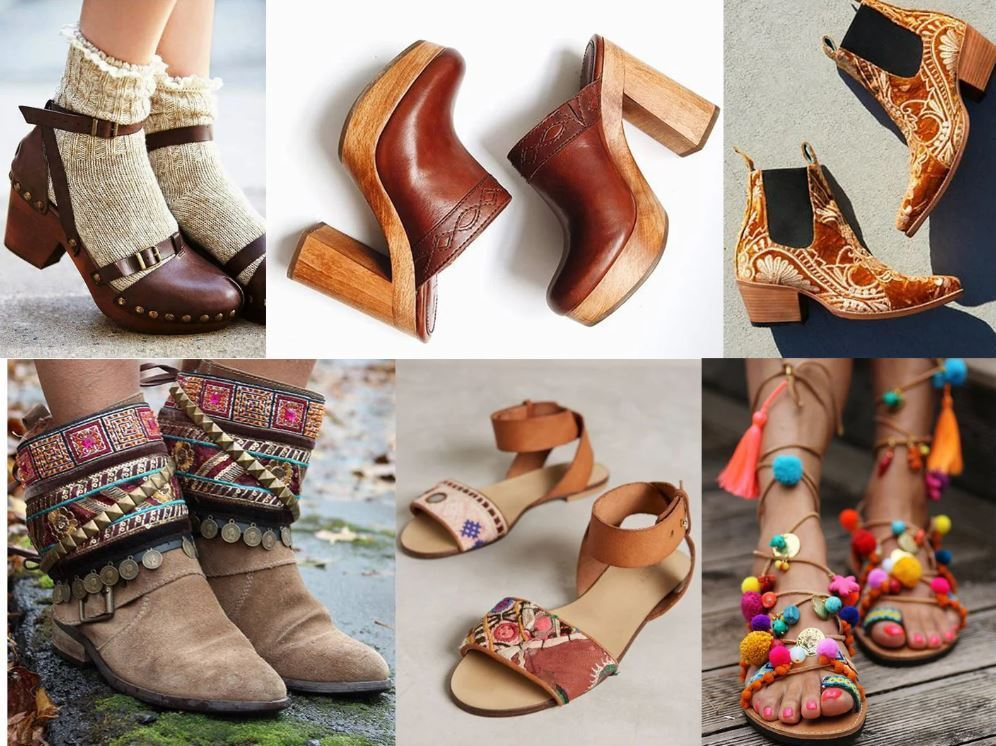 sandal chiến binh hoặc những đôi giày đế thô