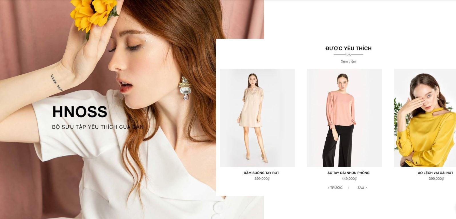 Thương hiệu thời trang Hnoss Fashion