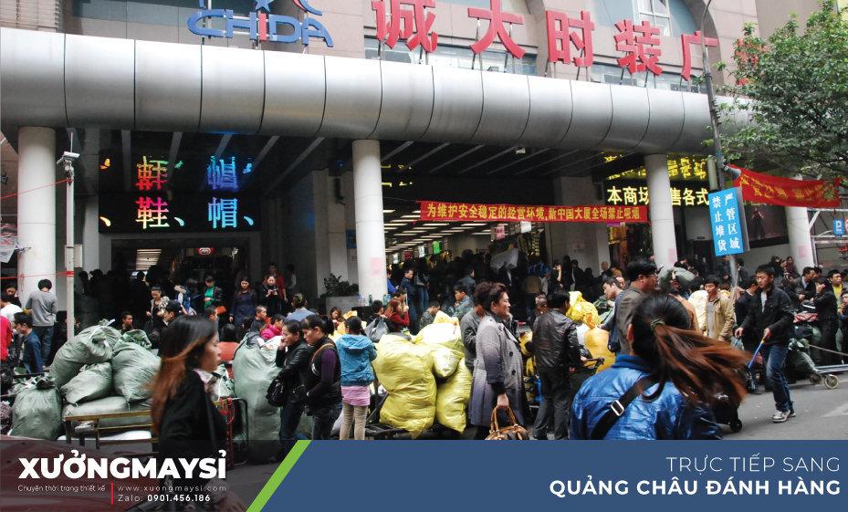 Sang trực tiếp các chợ sỉ nổi tiếng Quảng Châu để đánh hàng quần áo, váy đầm