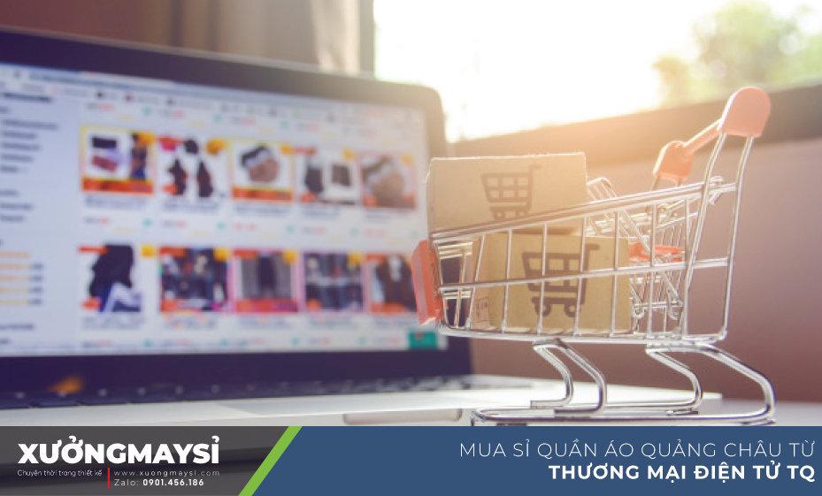 Mua sỉ quần áo váy đầm từ các trang web mua hàng Quảng Châu uy tín