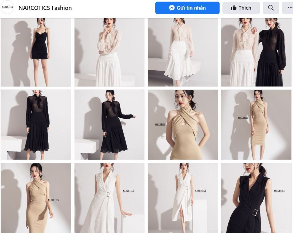NARCOTICS FASHION chuyên thời trang quyến rũ