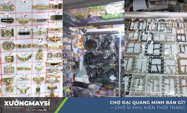 Đại Quang Minh là khu Chợ sỉ nguyên phụ liệu may mặc