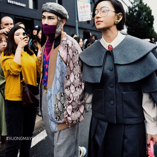 Fashionista Châu Bùi tham gia show diễn thời trang Gucci 2