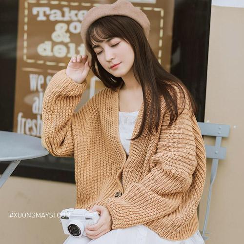 Áo cardigan - trang phục xinh xắn mùa đông dành cho nữ