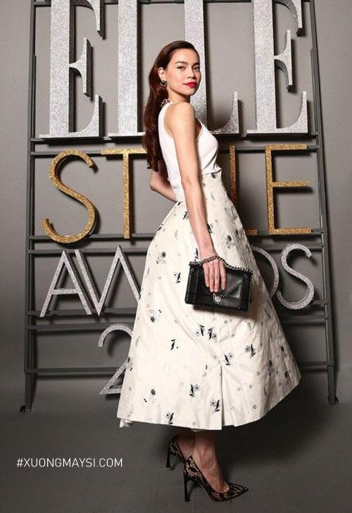 Diện trang phục sang trọng tao nhã của thương hiệu Dior
