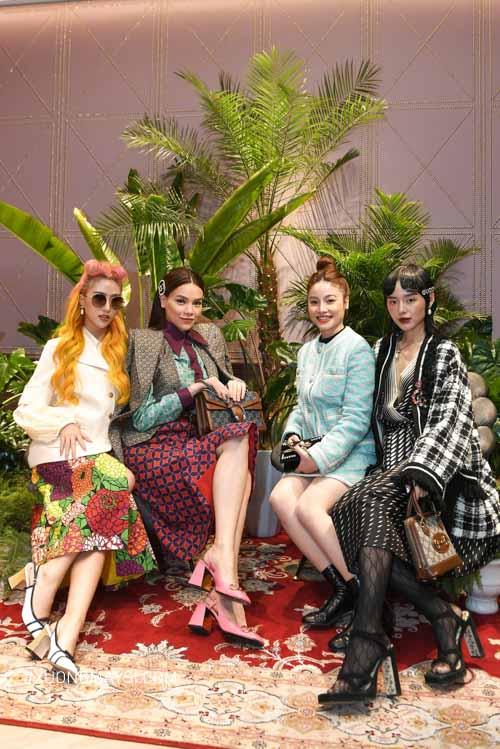 Hồ Ngọc Hà hội ngộ cùng các Fashionista tham dự s