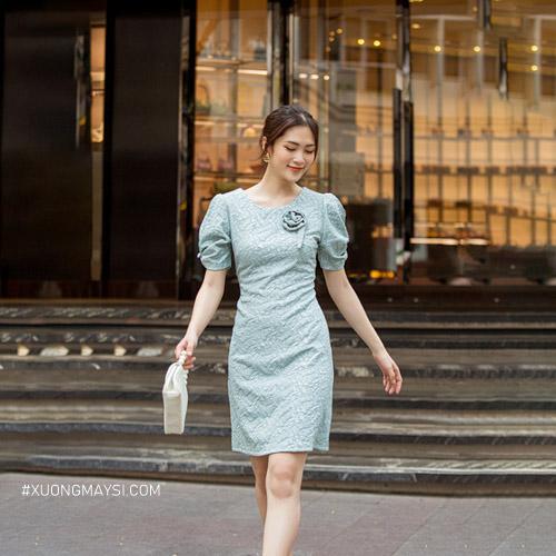 Đầm suông hiện đại khiến cho các nàng trở nên qu