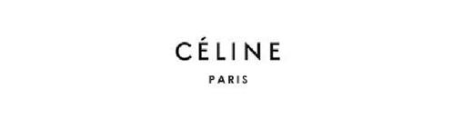 Logo của Céline được khắc họa đơn giản với cả dòng chữ Céline