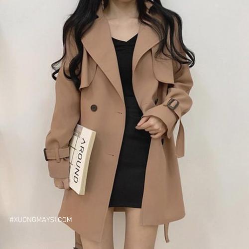 Áo khoác màu sắc nhẹ nhàng thiết kế đậm chất vi