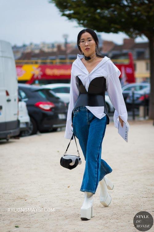 Chọn quần jeans cùng phong cách thời trang độc đáo