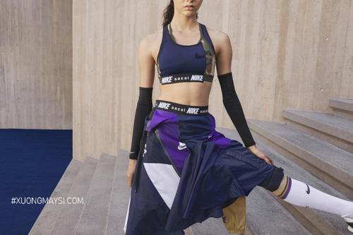 Nike x Sacai cho ra bắt các outfit mang phong cách Athleisure