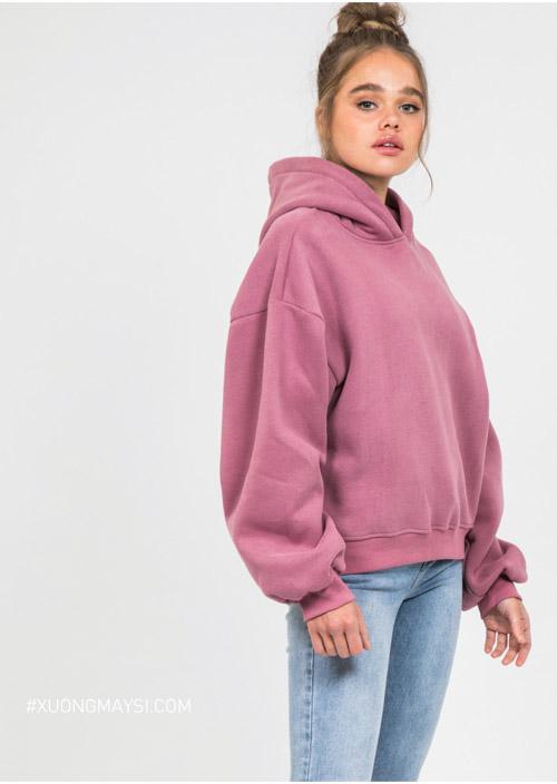 Áo hoodie - dòng áo khoác phổ biến đối với các bạn trẻ ở Việt Nam