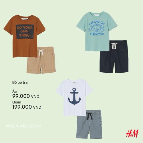 Những độ trang phục cực kỳ trẻ trung và thời trang giá cực rẻ đến từ thương hiệu H&M