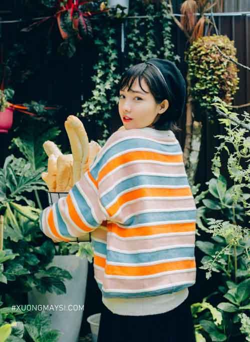 Áo sweater Rách Store trẻ trung xinh xắn dành cho các bạn nữ