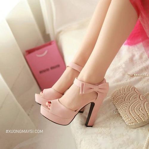 Xinh xắn hơn cùng giày cao gót