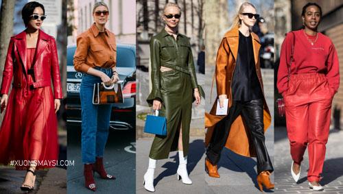 Màu sắc trang phục thể hiện phong cách thời trang của các bạn