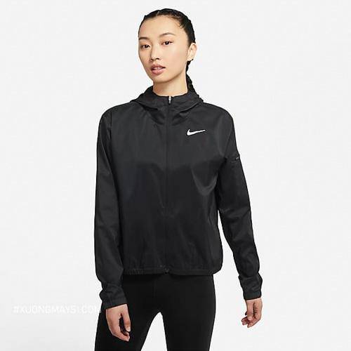 Áo khoác dù Nike đơn giản thoải mái dành cho các bạn nữ