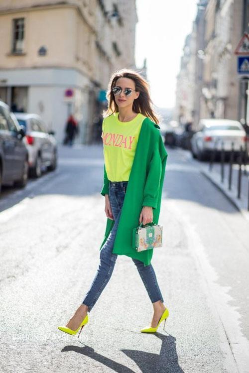 Outfit vô cùng nổi bật cho nàng diện hè