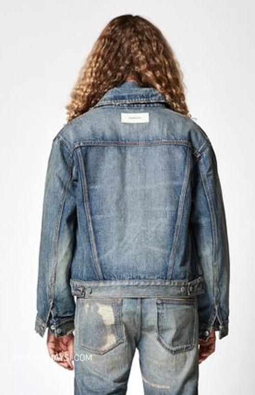 Áo jeans phong cách cá tình dành cho nữ từ nhãn hàng