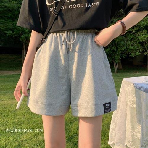 Diện quần short thun cùng phong cách đóng thùng sành